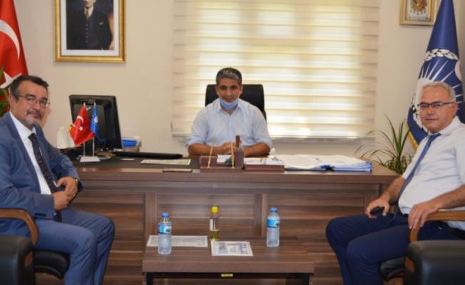 BUTTİM Başkanı Şengül'den Zabıta Daire Başkanı Muhammed Emin Tarım'a ziyaret
