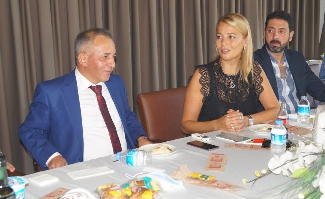 DOSABSİAD Yönetiminden Vergi Dairesi Başkanı Karakaş'a Veda