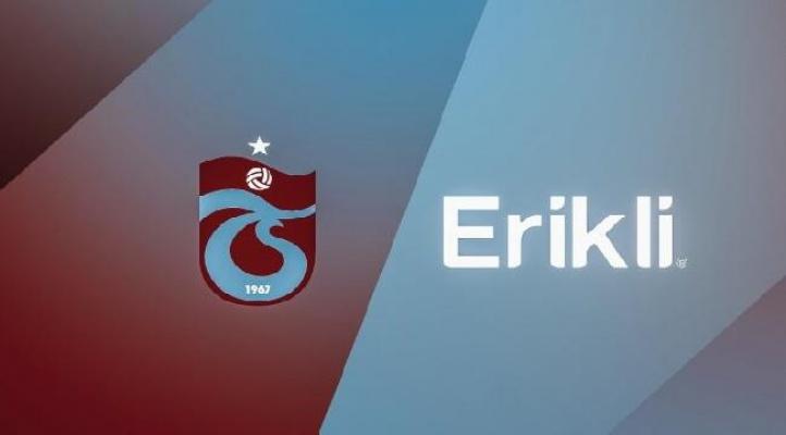 Erikli ile Trabzonspor'un su sponsoru oldu