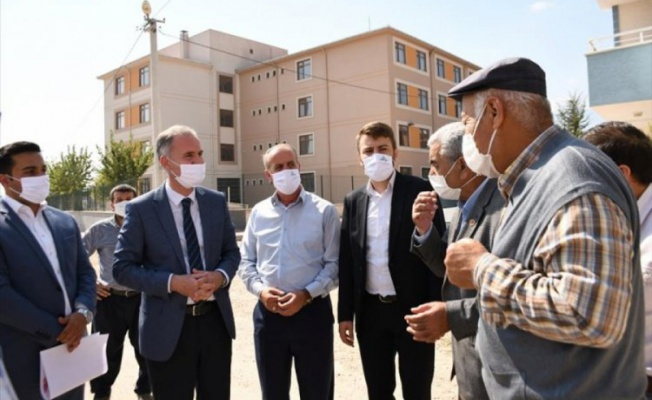 İnegöl Belediye Başkanı Taban: Her mahallemizde güzel alanlar oluşturacağız