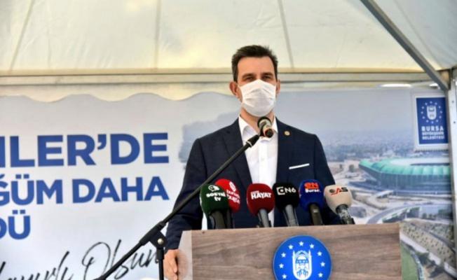 Mustafa Esgin'den Bursa yatırımlarını eleştiren muhalefete teşekkür
