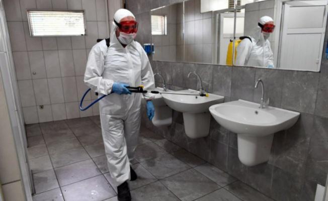 Osmangazi'de temizlik ve dezenfeksiyon aralıksız sürüyor