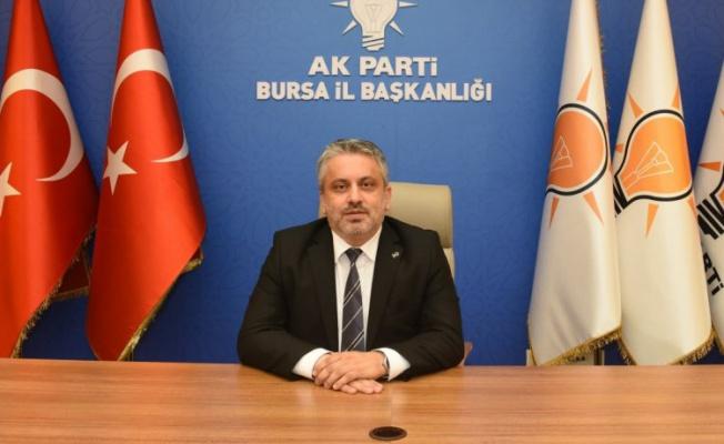 Ak Parti Bursa'da hedef 500 bin üyeye ulaşmak