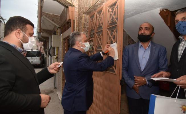AK Parti Bursa Teşkilatı'ndan 'Gönül Seferberliği'