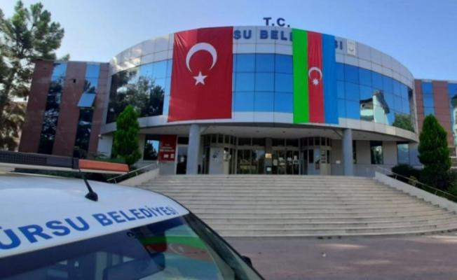 Azerbaycan'a bir destek de Gürsu'dan