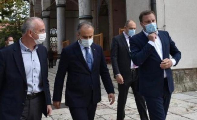Başkan Aktaş'tan Saraybosna ziyareti