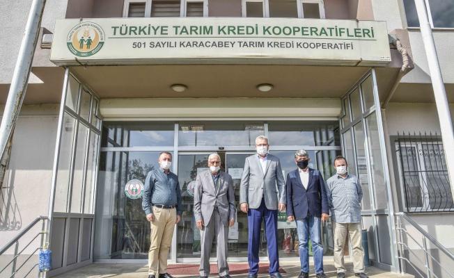 Başkan Özkan, Karacabey'e salça tesisleri kazandırma konusunda ısrarcı