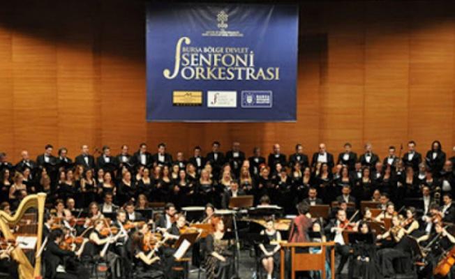 Bursa Bölge Devlet Senfoni Orkestrası konserinde büyük sürpriz