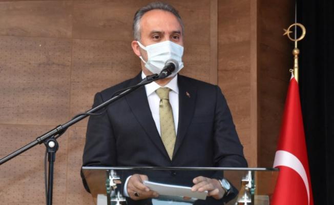 Bursa Büyükşehir Belediye Başkanı Aktaş: Pandemi hepimizi zorluyor