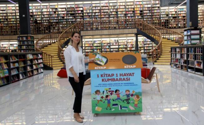 Bursa'da '1 Kitap 1 Hayat Kumbarası' projesi