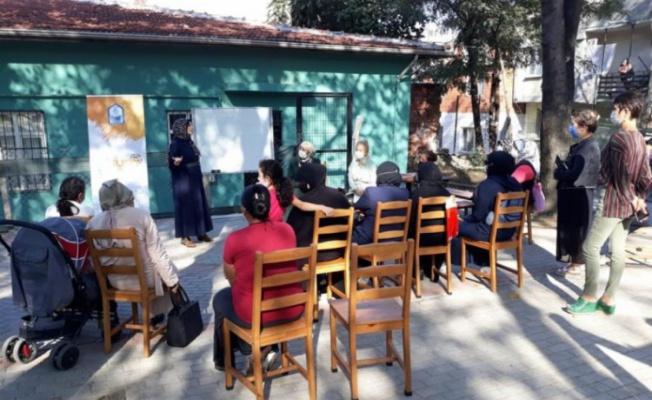 Bursa'da kadınlara hukuk semineri
