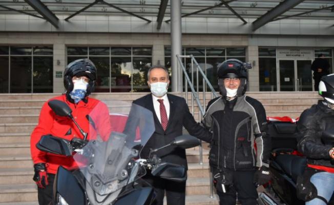 Bursa'da motorize coşku yaşandı
