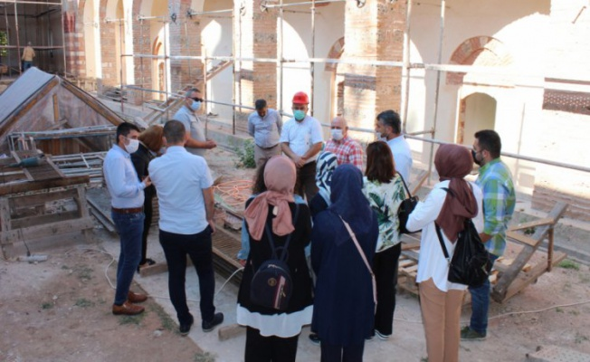 Bursa'da tarihi eserler çalıştayının hazırlıkları sürüyor