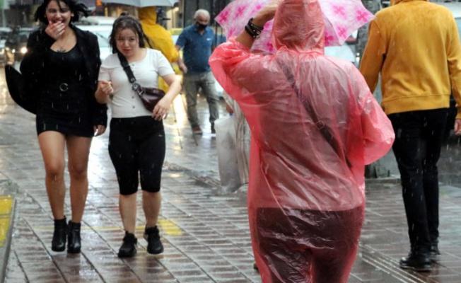 Bursa için kuvvetli yağış uyarısı geldi