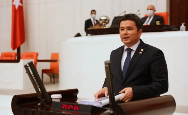 Bursa Milletvekili Aydın'dan markette satılan takviye edici gıdalar için kanun teklifi