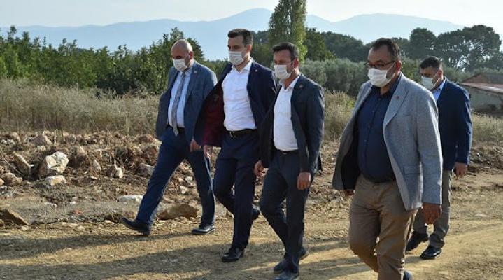 Bursa Milletvekili Esgin Orhangazi'yi ziyaret etti