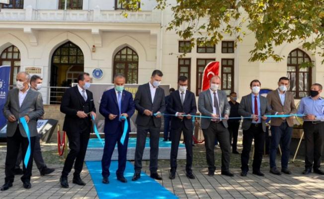 Bursa'da Covid-19'un kahramanlarına özel sergi