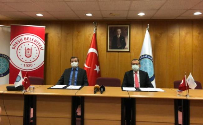 Gürsu Belediyesi ve üniversite kolektif gelişim için güç birliğinde