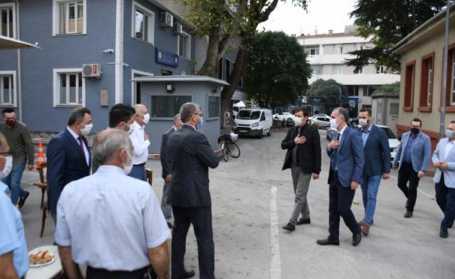 İnegöl Belediye Başkanı Taban din görevlilerini ziyaret etti