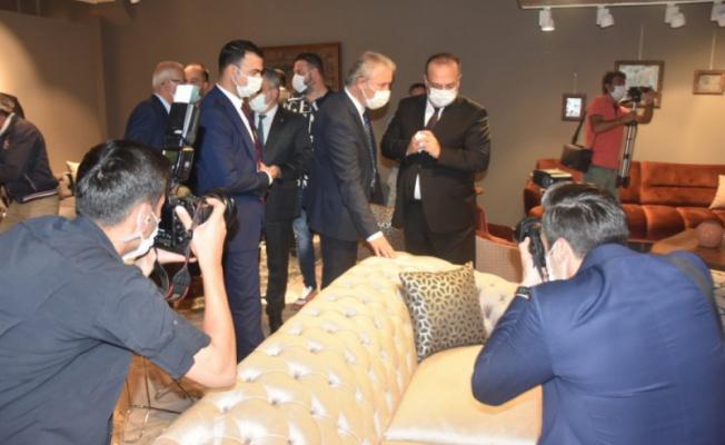 İnegöl'de 44. Mobilya ve Dekorasyon Fuarı açıldı