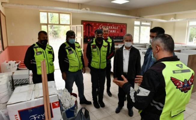 Motosiklet Kulübü'nden Bursa'ya eğitim yardımı