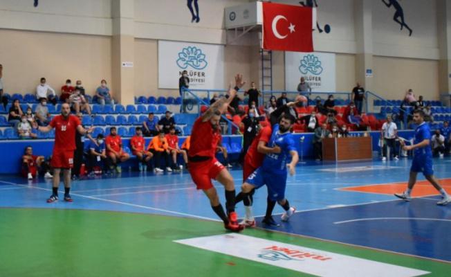 Nefes kesen maçta zafer Nilüfer Belediyespor'un