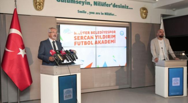 Nilüfer Belediyespor Sercan Yıldırım Futbol Akademi açılıyor!