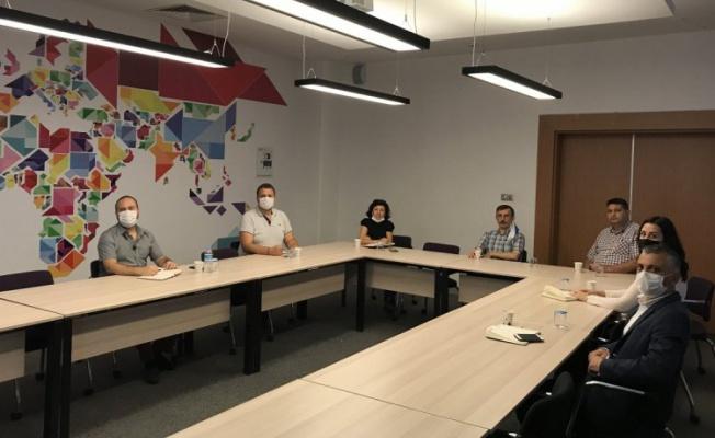 ULUTEK, Bursa Uludağ TTO ve BEBKA temsilcileri bir araya geldi