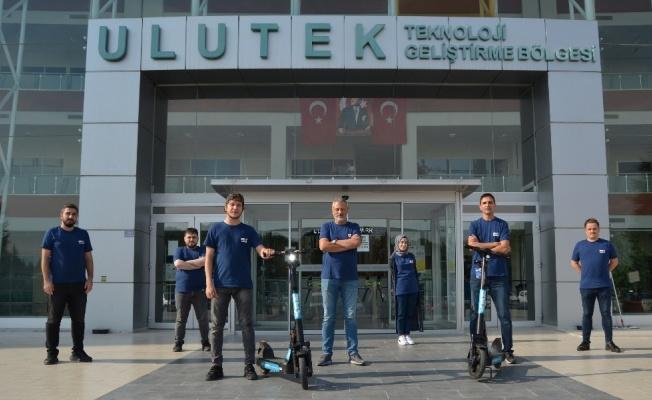 Yerli yazılıma sahip scooterlar Bursa yollarında
