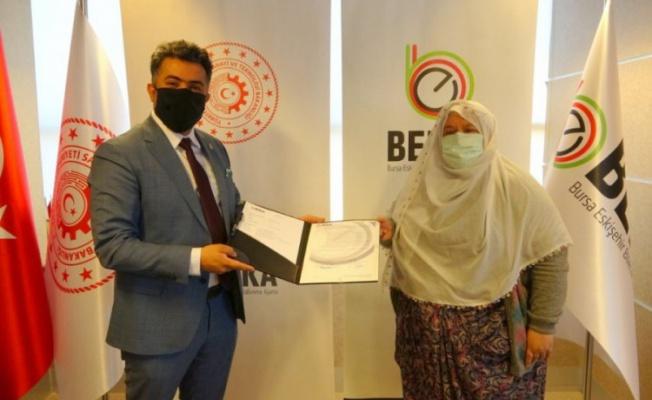 Bursa Eskişehir Bilecik Kalkınma Ajansı'ndan Mihalgazi'ye üretim desteği