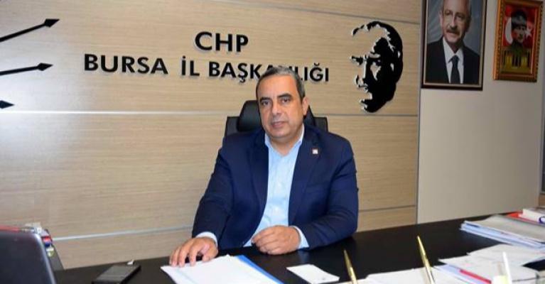CHP Bursa İl Başkanı Karaca: ''Bursa Büyükşehir şirketlerinde yağma sofrası var''