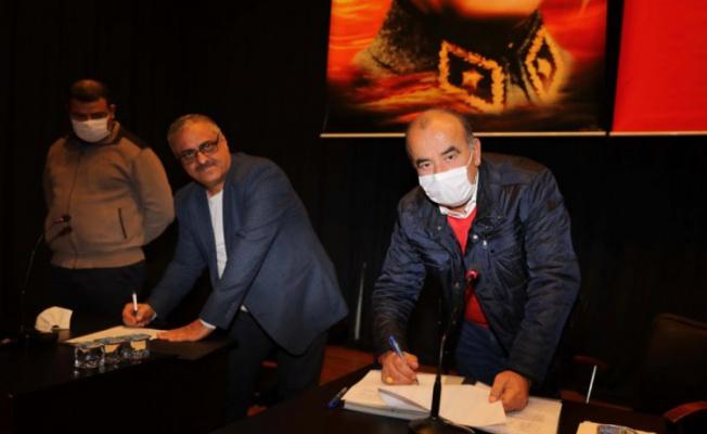 Mudanya Belediyesi'nde toplu iş sözleşmesi imzalandı