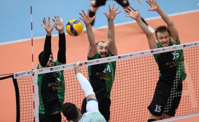 Bursa Büyükşehir Belediyespor mağlup oldu