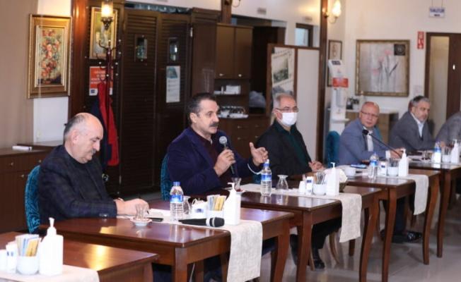 AK Parti Bursa'da birlik toplantısı