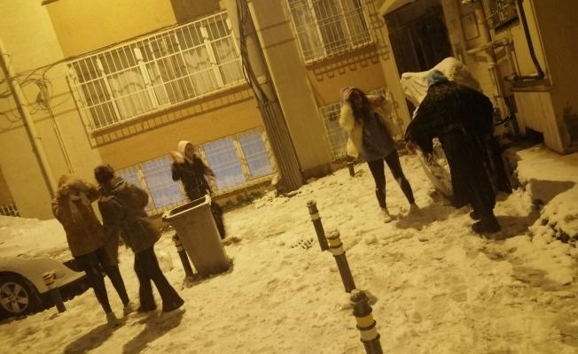 Bursa'da kar coşkusu yaşandı!