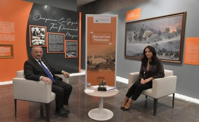 Erdönmez Bursa'da tarihi yaşatan müzeleri anlattı