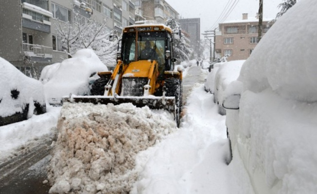 Osmangazi'de kış hazırlıkları tamam