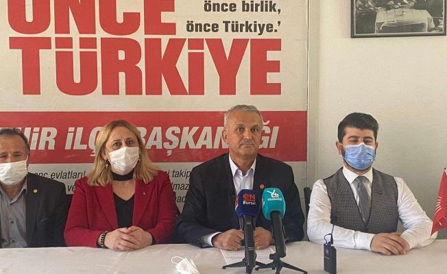 CHP'den Yenişehir'deki arazi satışına tepki!