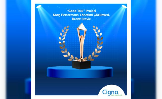 """Cigna """"Speech Analytics Good Talk Projesi"""" ile Stevie'den Ödülle Döndü"""