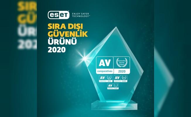 ESET Internet Security Sıra Dışı Güvenlik Ödülü'ne layık görüldü