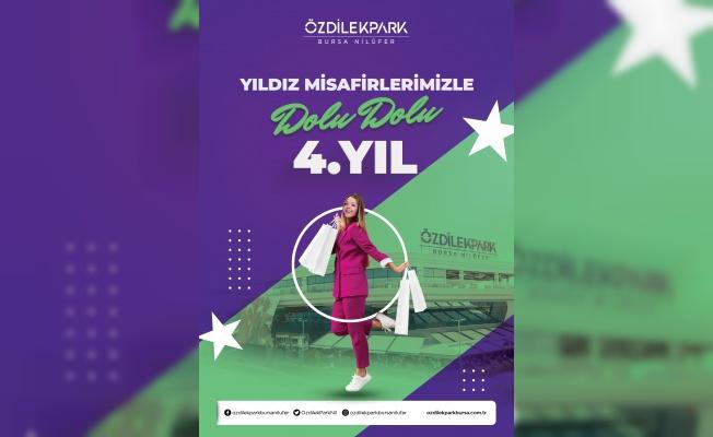 ÖzdilekPark Bursa Nilüfer 4. Yaşını Kampanyalarla Kutluyor