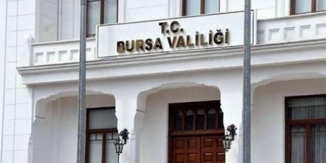 Bursa Valiliği tarafından  İl Hıfzı Saha Kararları açıklandı