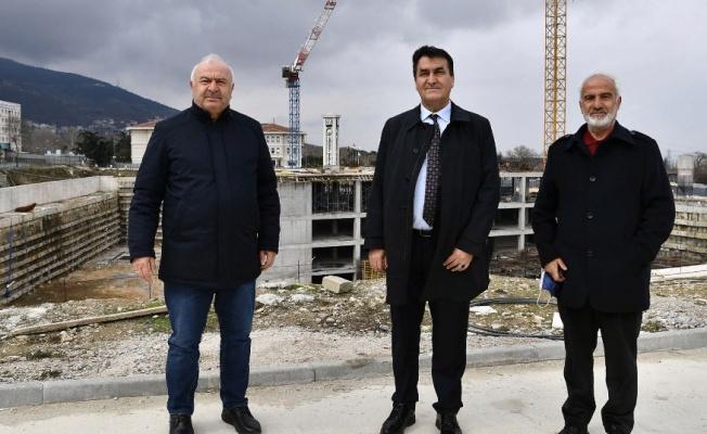 Bursa'nın Yeni Merkezi Osmangazi'de Yükseliyor
