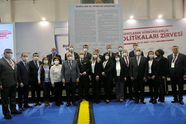 """CHP'Lİ 22 BELEDİYE BAŞKANI """"SU MANİFESTOSU""""NU İMZALADI: """"BAŞKA BİR SU YÖNETİMİ MÜMKÜN"""""""