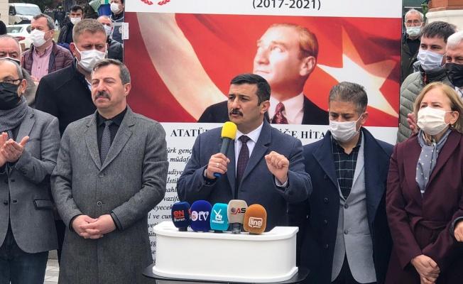 Türkoğlu, Alinur Aktaş'a 3,5 yıllık hizmet karnesi verdi: OTUR, SIFIR!