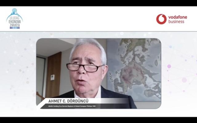 Uludağ Ekonomi Zirvesi'nde   Sürdürülebilirlik konusu ele alındı