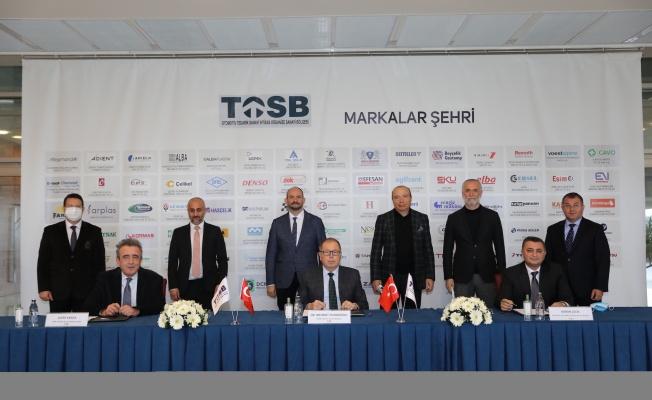 Beyçelik Gestamp'ın TOSB'da 50 Milyon Euro'luk Yatırımla Kuracağı Yeni Fabrikası İçin İmzalar Atıldı!