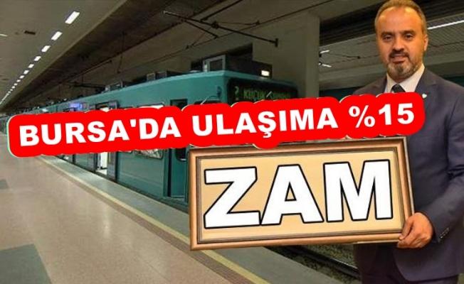 BURSA'DAKİ ULAŞIM ZAMMINA HALK TEPKİLİ !