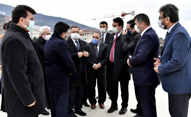Osmangazi Meydanı Dualarla Yükseliyor