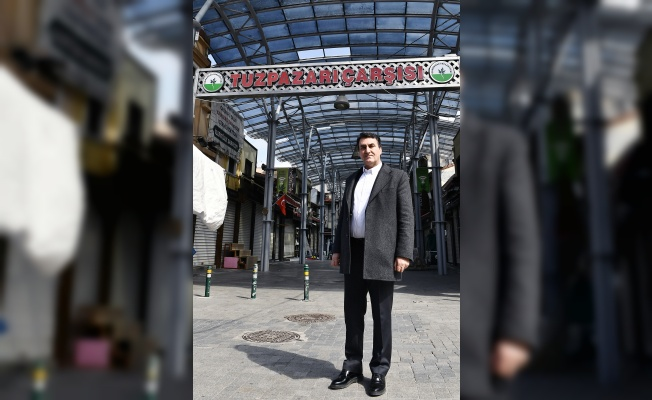 Tarihi Çarşı'ya Osmangazi Hizmeti